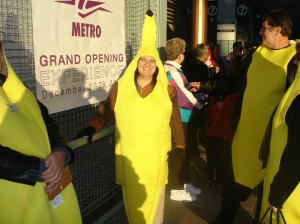 Look quick, because this is likely the only time you will EVER see me in a banana suit!